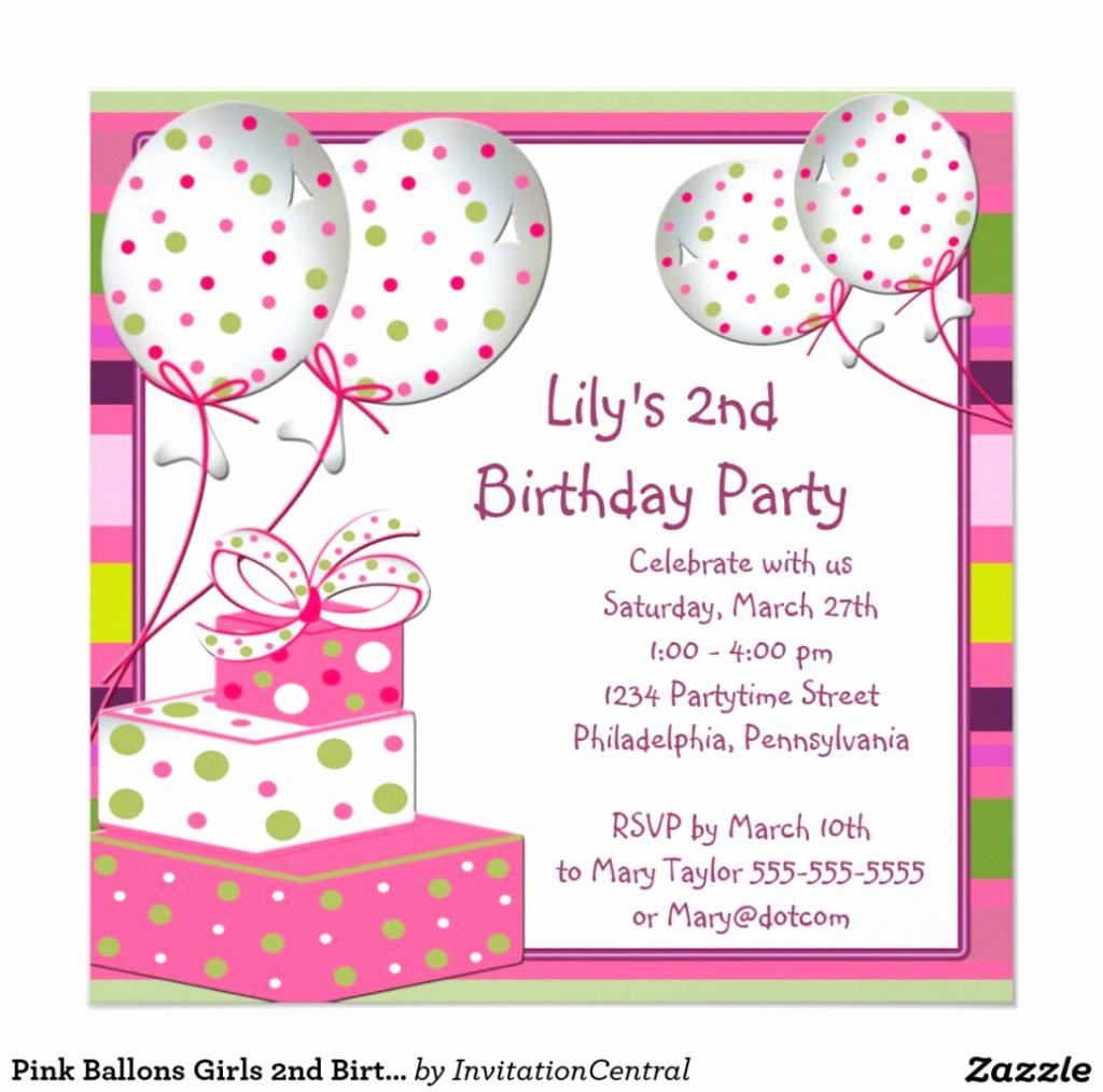 5th Birthday Party Invitation Wording New 5th Birthday Invitation Wording Samples