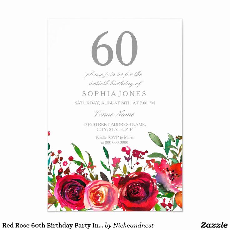 60th Birthday Invitation Ideas Beautiful Best 25 60th Birthday Invitations Ideas On Pinterest