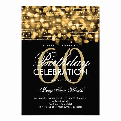 60th Birthday Invitation Wording Elegant Free Printable 60th Birthday Drew S 60th