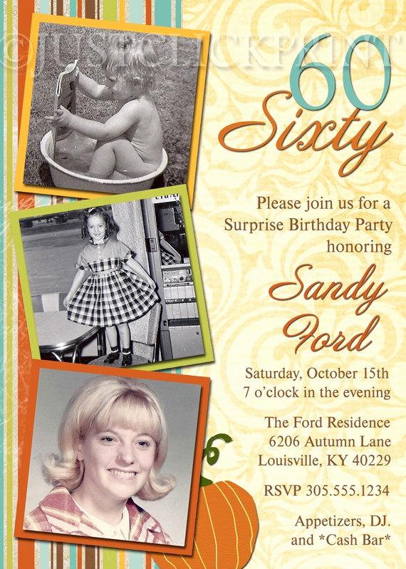 60th Birthday Invitation Wording Elegant Pinterest Invitations 60th