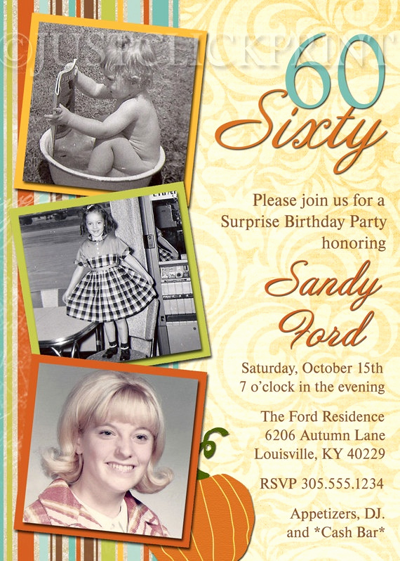 60th Birthday Invitation Wording Lovely Pinterest Invitations 60th