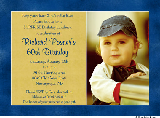 60th Birthday Party Invitation Wording Awesome 60th Birthday Invitations for Men – Bagvania Free