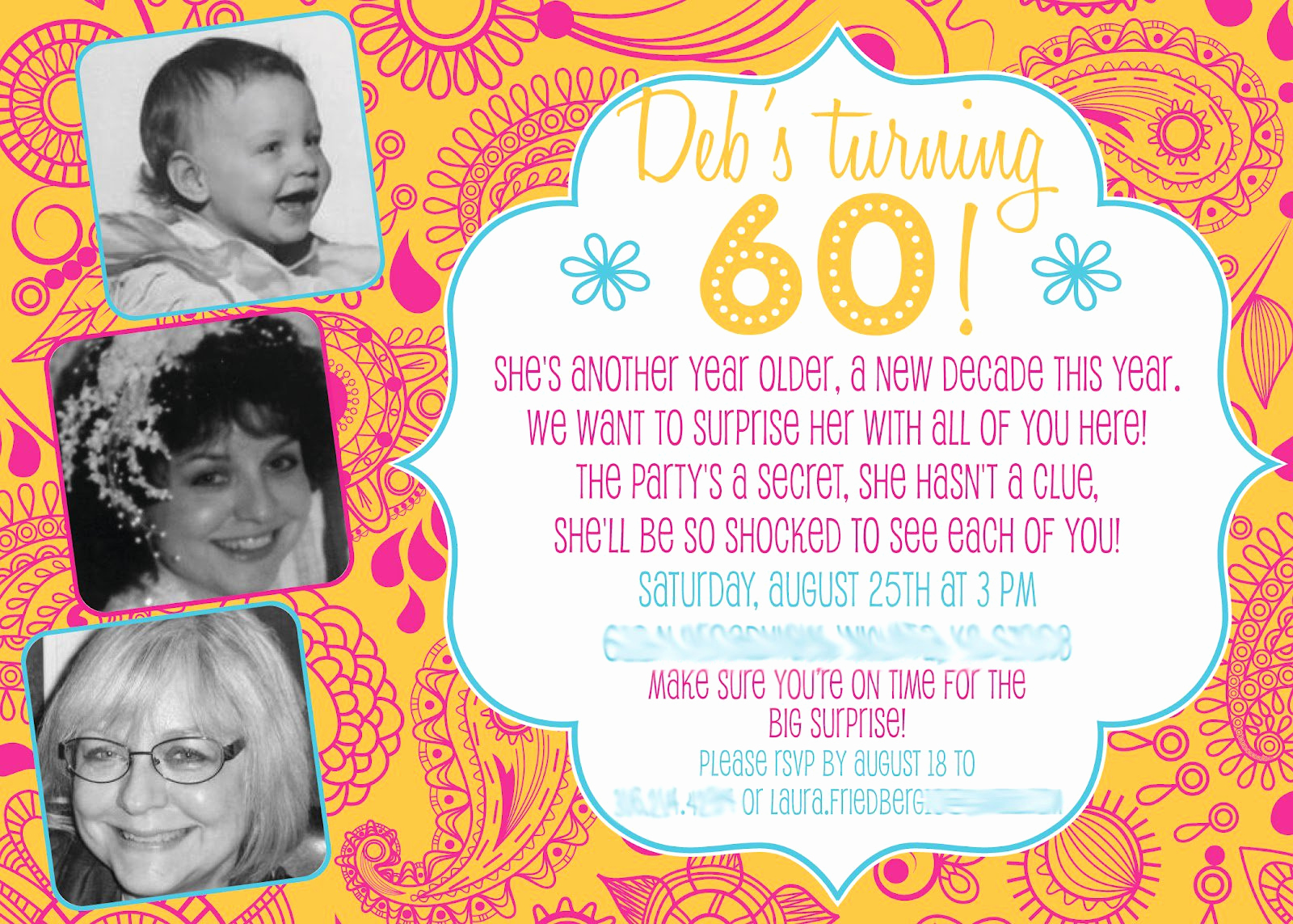 60th Birthday Party Invitation Wording Beautiful 60th Birthday Invitations Wording