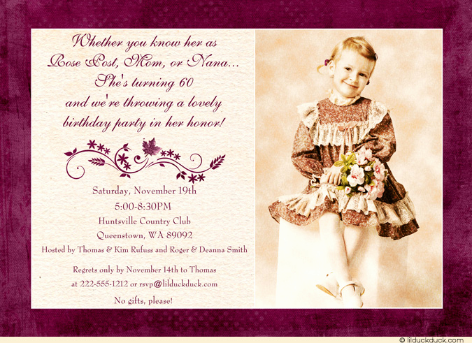 60th Birthday Party Invitation Wording Inspirational Birthday Invitations for Adults