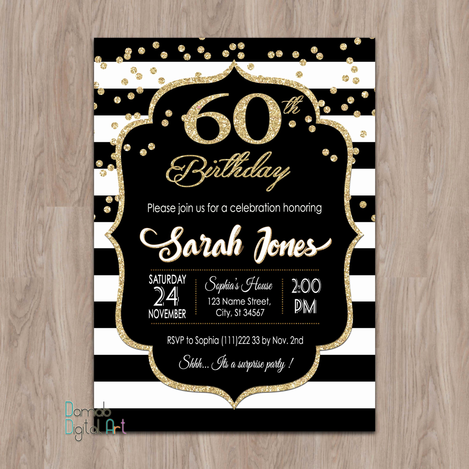 60th Birthday Party Invitation Wording Luxury 60th Birthday Invitations 60th Birthday Invitations for