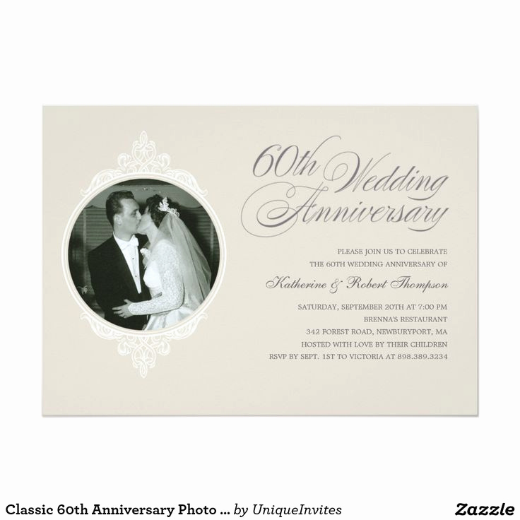 60th Wedding Anniversary Invitation Wording Elegant 1000 Images About 60th Anniversary On Pinterest