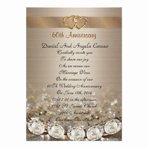 60th Wedding Anniversary Invitation Wording Inspirational 17 Best Images About 60th Wedding Anniversary On Pinterest