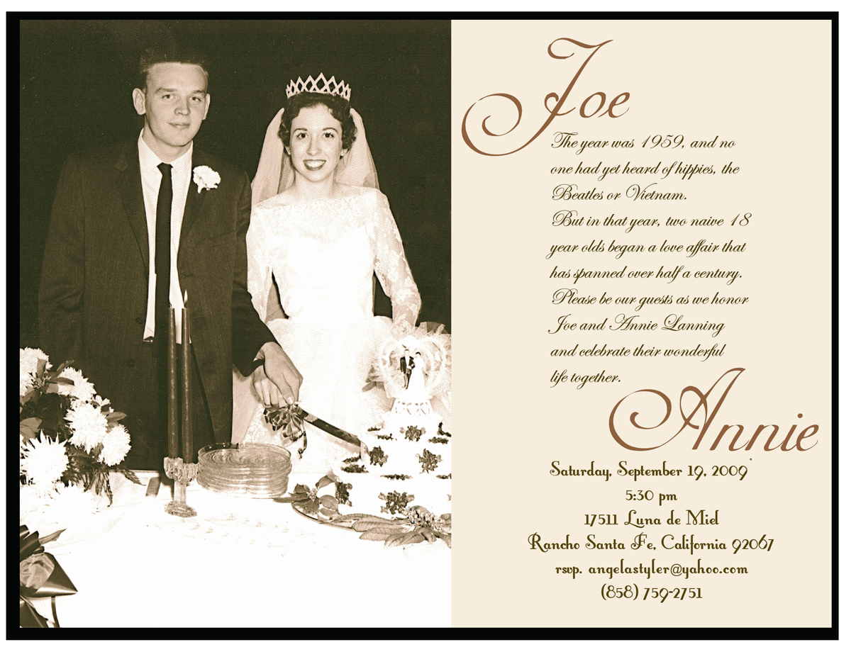60th Wedding Anniversary Invitation Wording Inspirational Invitations & Announcements