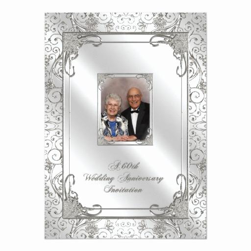 60th Wedding Anniversary Invitation Wording Lovely 60th Wedding Anniversary Invitation Card