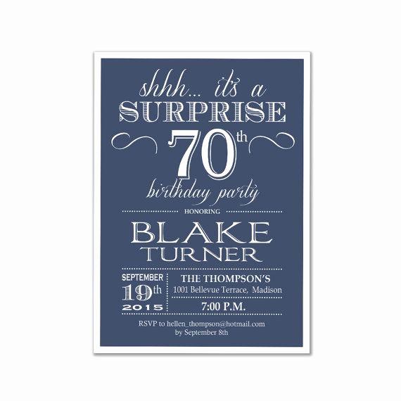 70th Birthday Invitation Ideas Beautiful 1000 Ideas About 70th Birthday Invitations On Pinterest