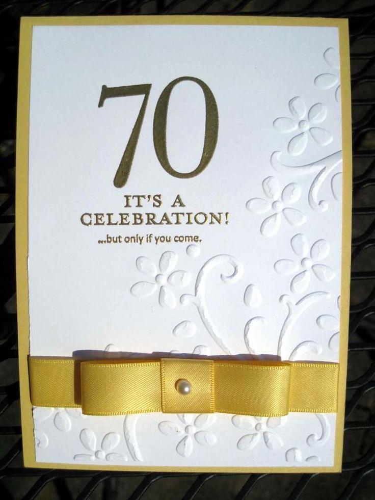 70th Birthday Invitation Ideas Beautiful Stampin Up 70th Birthday Google Search