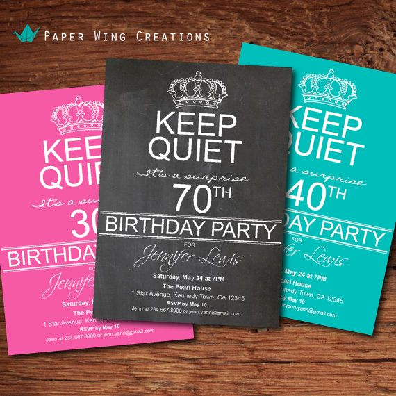 70th Birthday Invitation Templates Free Luxury Free Printable 70th Surprise Birthday Party Invitations