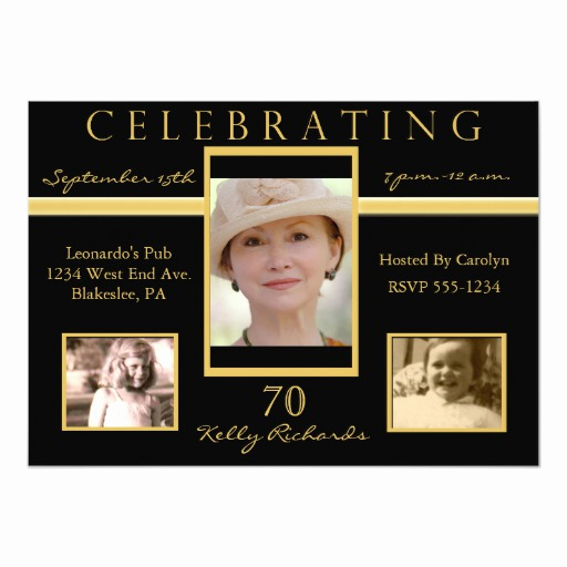 70th Birthday Invitation Wording Best Of 70th Birthday Party Tri Invitations