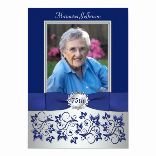 75th Birthday Invitation Wording Lovely the Best 75th Birthday Invitations and Party Invitation