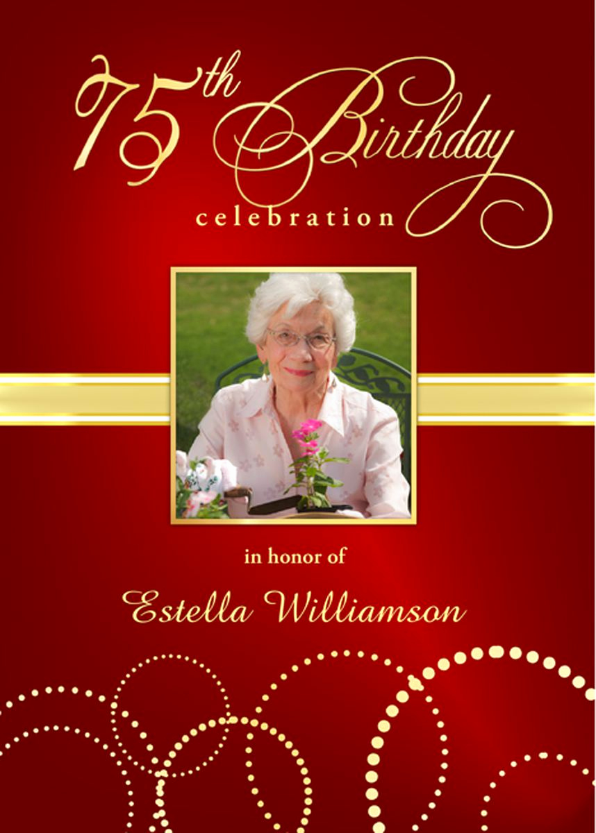 75th Birthday Invitation Wording Unique 75th Birthday Invitations Wording Samples