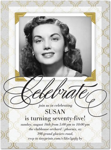75th Birthday Invitation Wording Unique Best 25 75th Birthday Invitations Ideas On Pinterest
