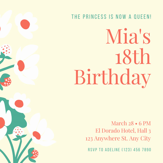 80th Birthday Invitation Templates Elegant Customize 314 80th Birthday Invitation Templates Online