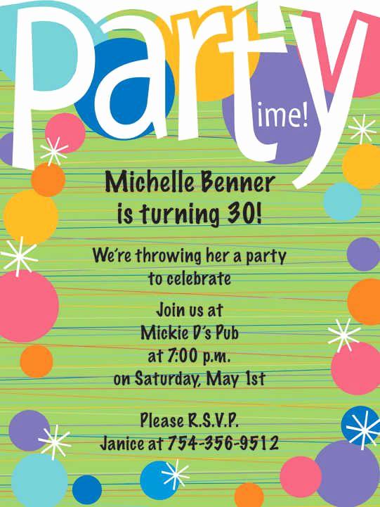 8th Birthday Invitation Wording Fresh Example Invitation Card Birthday Party