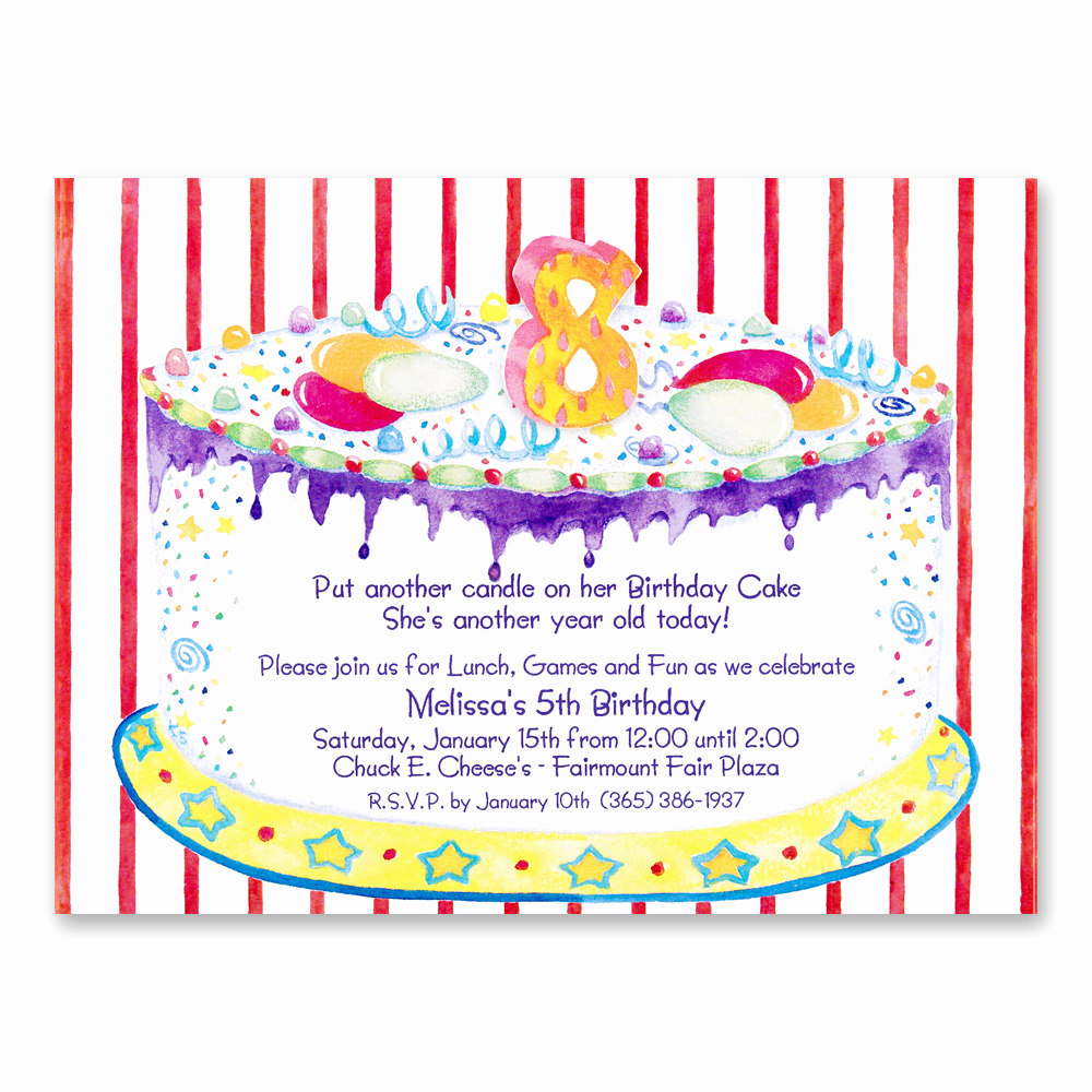 8th Birthday Invitation Wording Inspirational 8th Birthday Party Invitations Wording