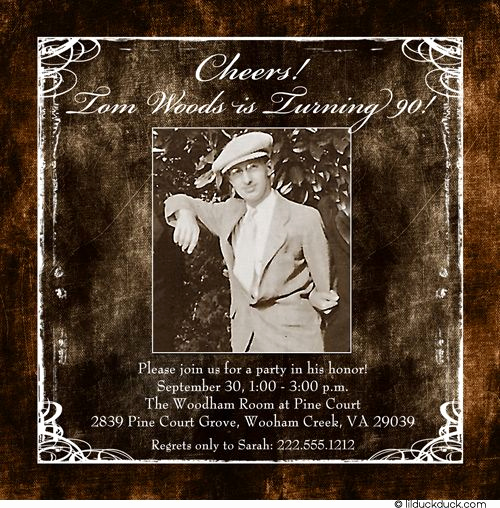 90th Birthday Invitation Ideas Awesome 28 Best Dads 90th Bday Celebration Images On Pinterest