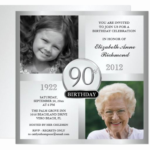 90th Birthday Invitation Ideas Awesome Best 25 90th Birthday Parties Ideas On Pinterest