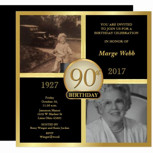 90th Birthday Invitation Ideas Lovely Best 25 90th Birthday Invitations Ideas Only On Pinterest