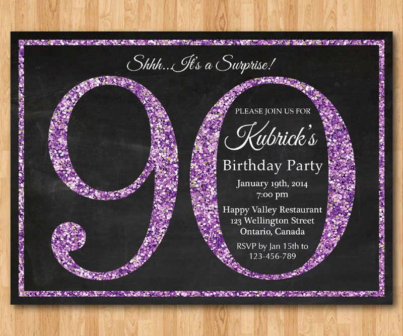 90th Birthday Invitation Ideas Lovely Pin by Bre Decorsey On Invite