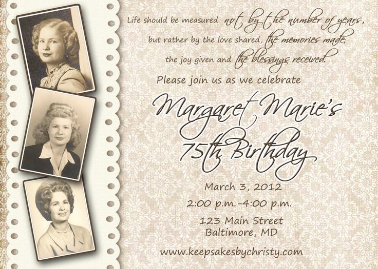 90th Birthday Invitation Ideas New 1000 Ideas About 90th Birthday Invitations On Pinterest