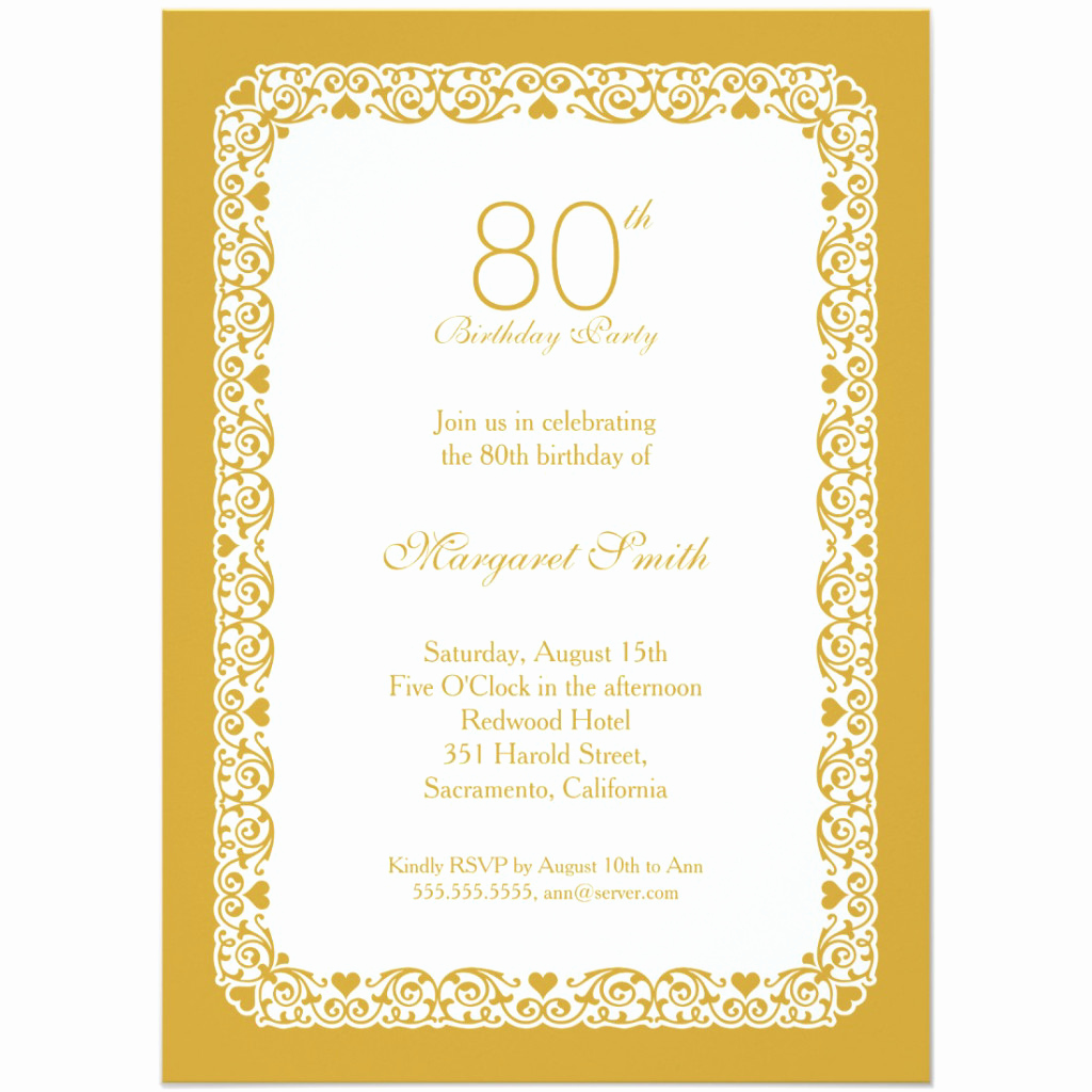 90th Birthday Invitation Templates Elegant 90th Birthday Invitation Templates