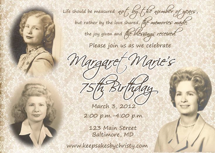 90th Birthday Invitation Templates Unique 17 Best Ideas About 90th Birthday Invitations On Pinterest