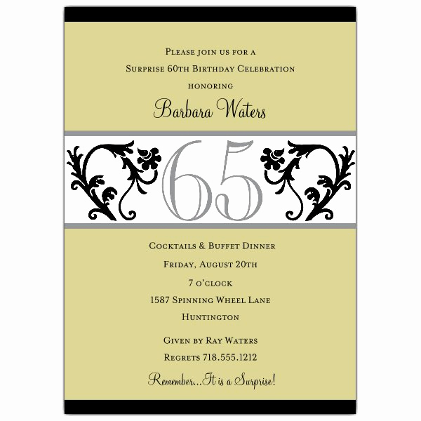 90th Birthday Invitation Wording Fresh Elegant Vine Chartreuse 90th Birthday Invitations