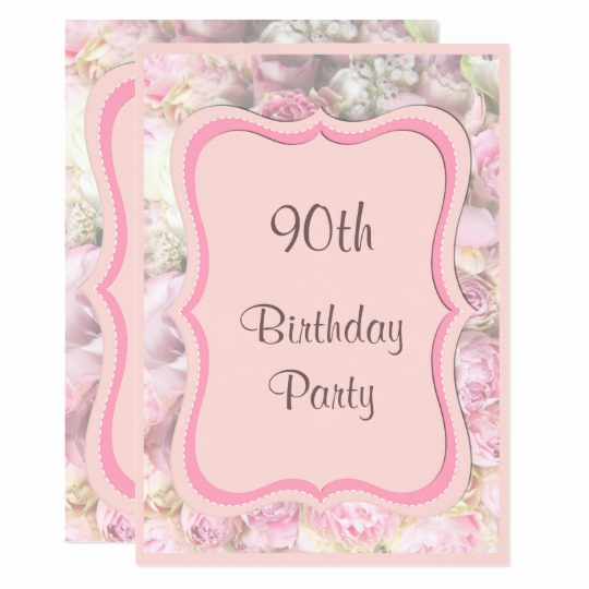 90th Birthday Invitation Wording Inspirational 90th Birthday Invitations 1300 90th Birthday