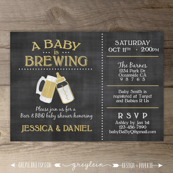 A Baby is Brewing Invitation Awesome Best 25 Coed Baby Shower Invitations Ideas On Pinterest