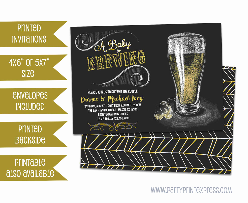 A Baby is Brewing Invitation Best Of Baby Brewing Shower Invitation Baby is Brewing Invitations