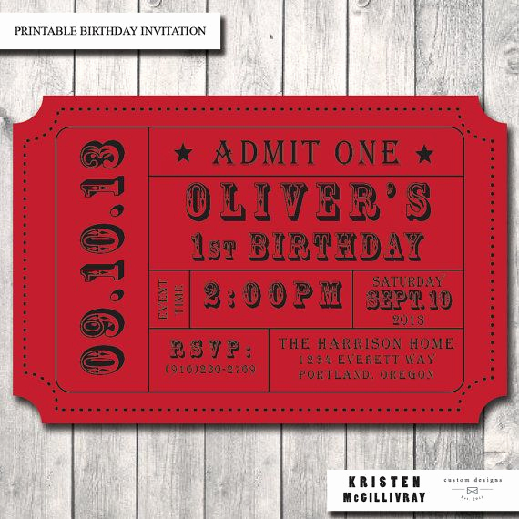 Admission Ticket Invitation Template Free Lovely Carnival Ticket Invitation Ticket Stub Editable