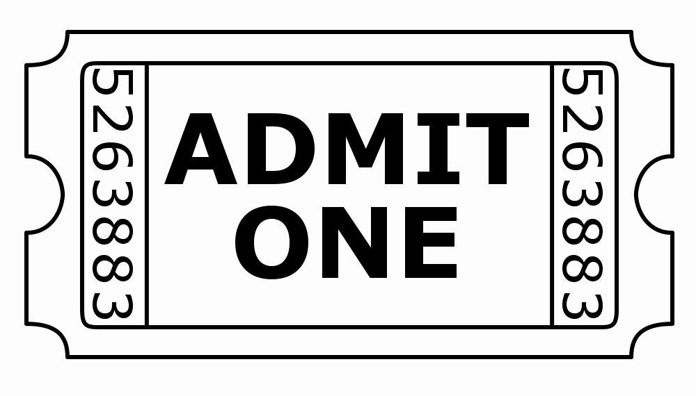 Admit One Ticket Invitation Template Elegant Admit E Ticket Digital Stamp by Janettebernard On Deviantart
