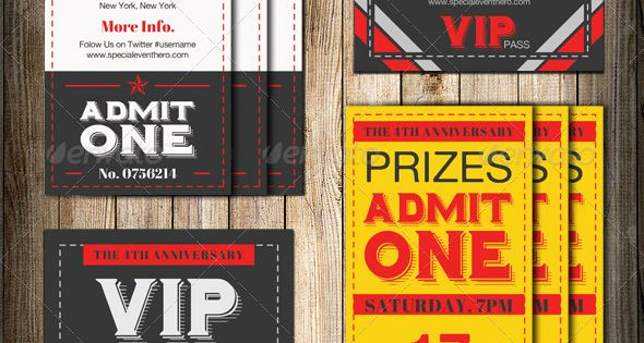 Admit One Ticket Invitation Template Inspirational Admit E Vip Ticket Invitation Template