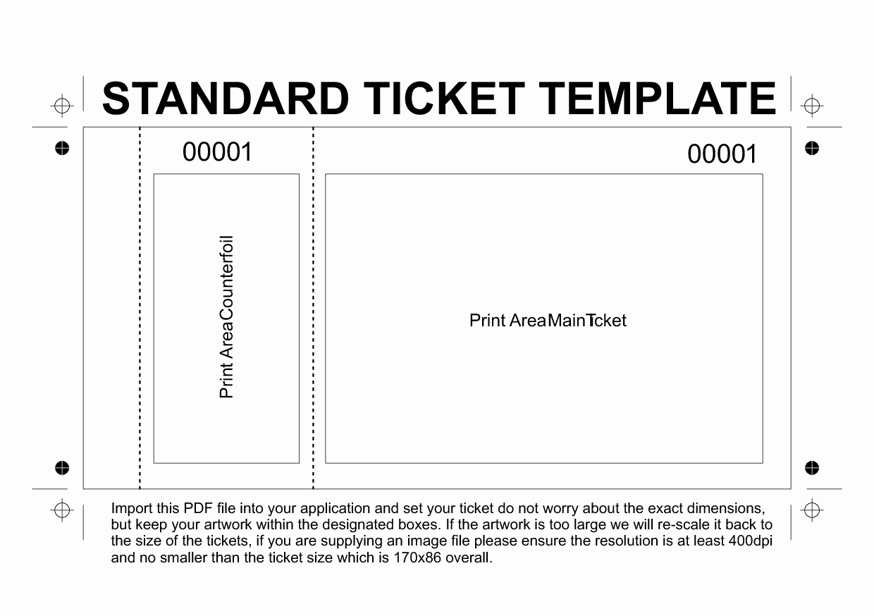 Admit One Ticket Invitation Template Lovely Dinner Ticket Templates