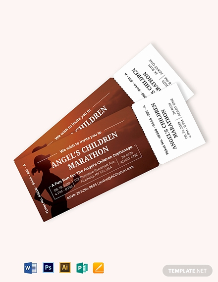 Admit One Ticket Invitation Template Luxury Admit E event Ticket Template Download 319 Tickets In