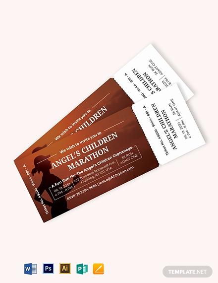 Admit One Ticket Invitation Template Luxury Admit E event Ticket Template Download 319 Tickets In