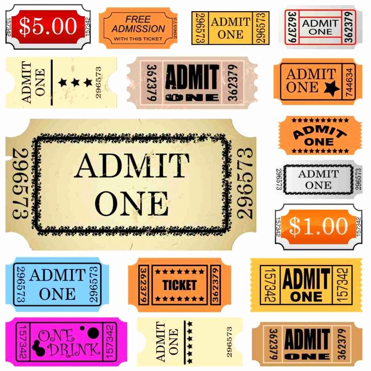 Admit One Ticket Invitation Template Unique 25 Unique Admit One Ticket Ideas On Pinterest