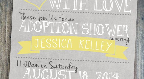 Adoption Baby Shower Invitation Wording Elegant Adoption Shower Invitation International Private or