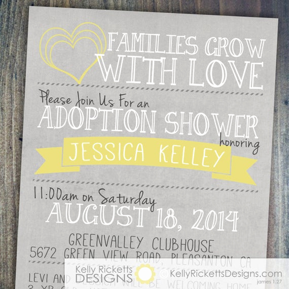 Adoption Shower Invitation Wording New Adoption Shower Invitation International Baby or Foster