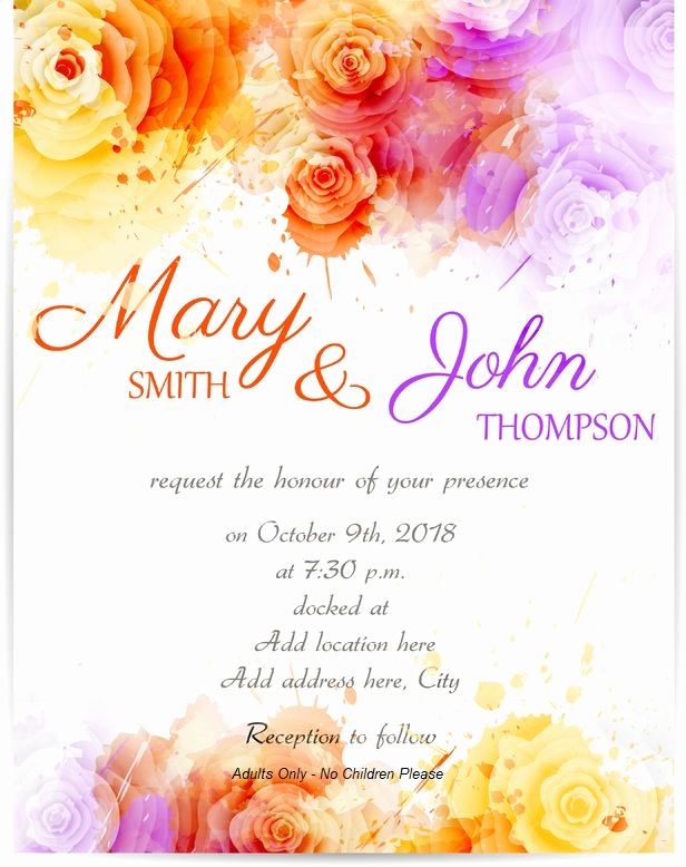 Adults Only Wedding Invitation Wording Best Of Wedding Guests Archives Honeyfund Blog by Honeyfund