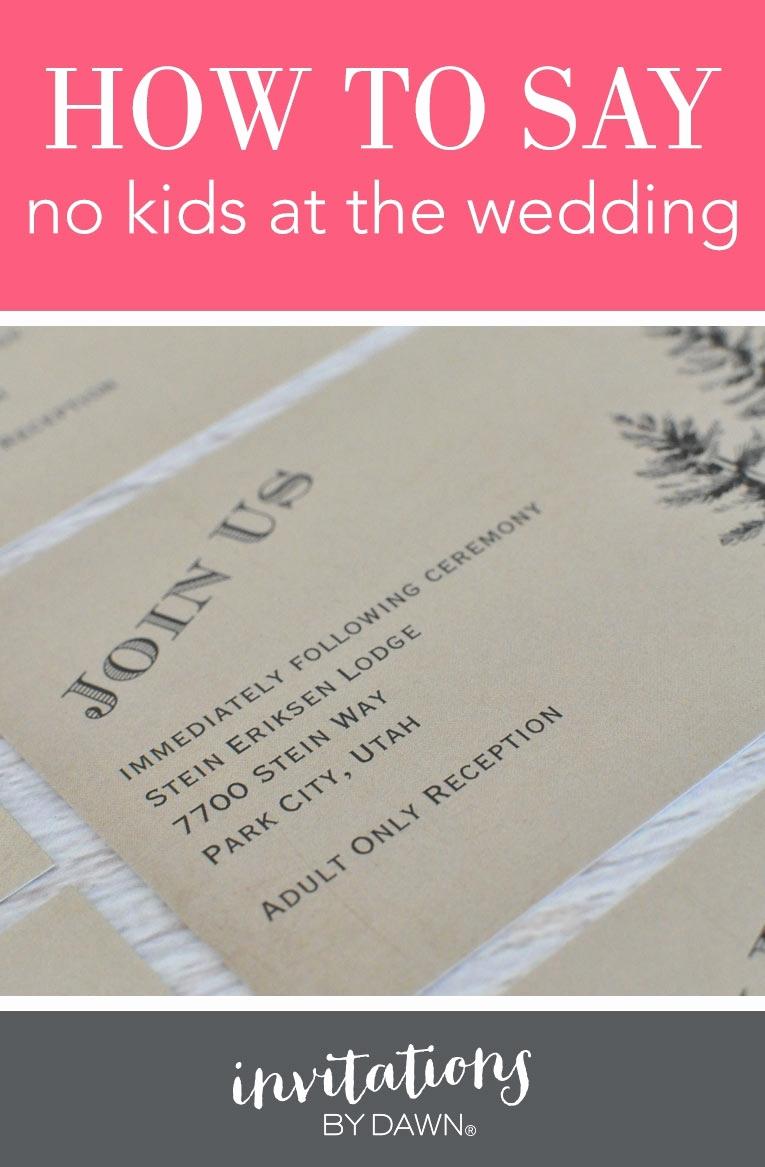 Adults Only Wedding Invitation Wording Fresh No Children Wedding Invitation Cobypic