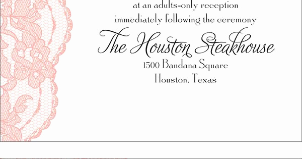 Adults Only Wedding Invitation Wording Inspirational Adults Ly Wedding Invitation Wording