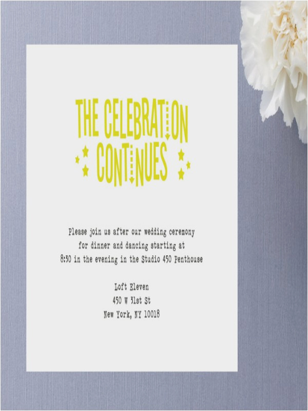 After Party Invitation Wording Fresh Wording for Reception after Destination Wedding