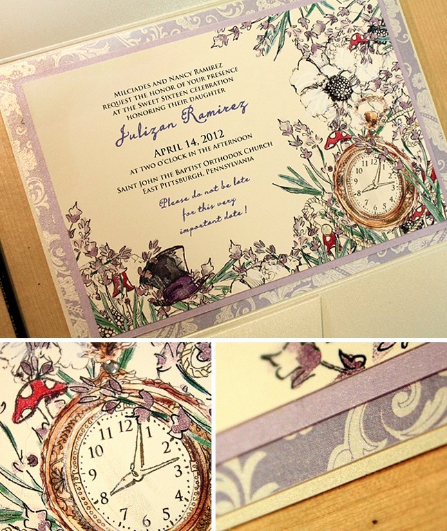 Alice In Wonderland Invitation Ideas Fresh Best 25 Alice In Wonderland Invitations Ideas On