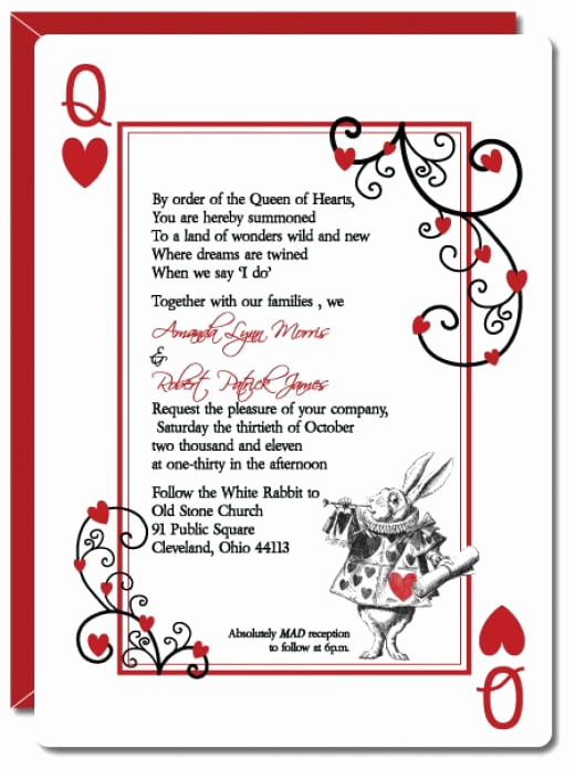 Alice In Wonderland Invitation Inspirational Alice In Wonderland Invitation Template Free