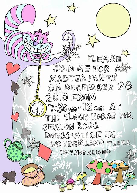 Alice In Wonderland Invitation Template Luxury 40th Birthday Ideas Alice In Wonderland Birthday
